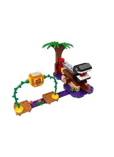 Lego 71381 Lego® Super Mario™ Chain Chomp Orman Karşılaşması Ek Macera Seti /160 Parça /+7 Yaş Renkli